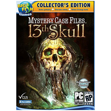 Mystery Case Files: 13th Skull Collector's Edition - PC