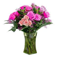 """Romance"" Fresh Cut Flower Bouquet"