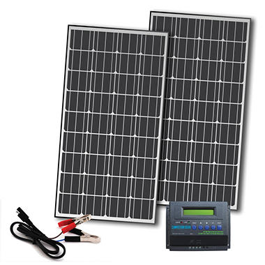 330 Watt Off Grid Solar Panel Kit For 12 Volt Charging