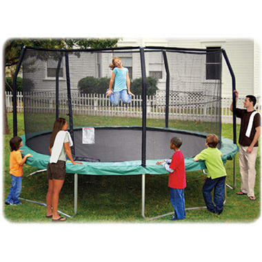 JumpPod Enclosure for 15 ft. Round Trampoline