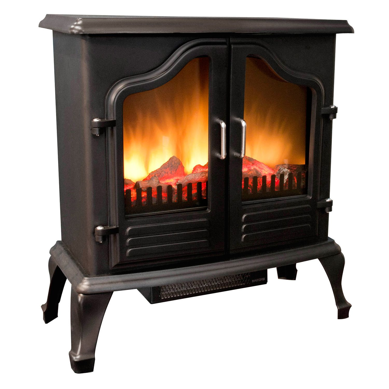 Grand Aspirations Electric Fireplace Stove 5100 Btu Model Fs2210a Ebay