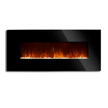 Grand Aspirations 50 Inch Wall Unit Fireplace - Original Price $179.98 Save $80
