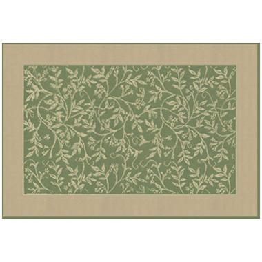 Green Leaf Rug - 8' x 11'
