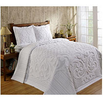 Click here for Ashton Bedspread Queen -White prices