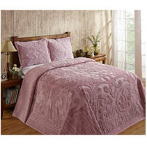 Click here for Ashton Bedspread Twin-Pink prices