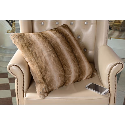 Faux Fur Pillow, Various Colors