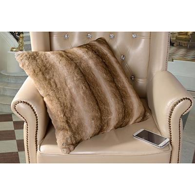 Faux Fur Pillow, Various Colors