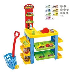 My Supermarket & Trolley Set