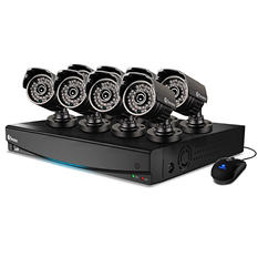 Swann 8 Channel 960H Security System with 1TB Hard Drive, 8  700TVL Cameras, and 82' Night Vision