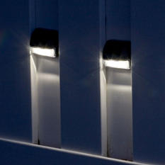 Solar Wall Lights - 4 pack