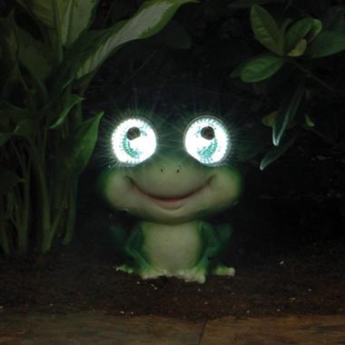 Solar Garden Pals Frog - 6.5