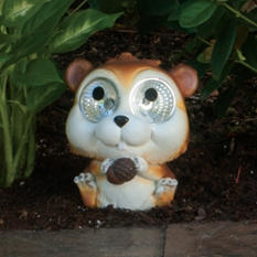 "Solar Garden Pals Squirrel - 6.5"" Tall (2 pk.)"