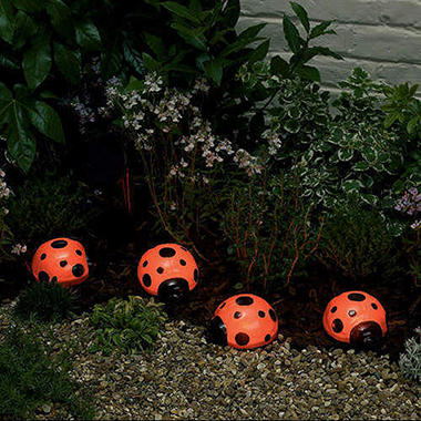 Solar Light Set - Ladybug