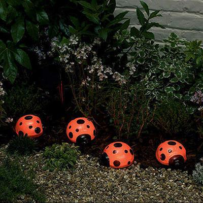 Solar Light Set - Ladybug