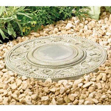 Solar Lighted Stepping Stones - 3 pk.