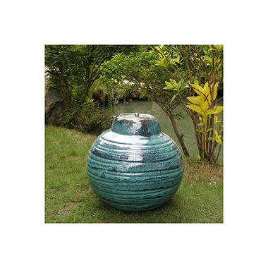 Sari Ceramic Fire Pot - Ocean Fury