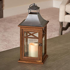 """Portland 17"""" LED Candle Lantern"""