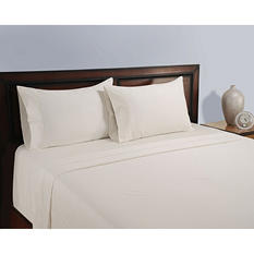 Natural 325 Thread Count Sheet Set - Various Size & Colors