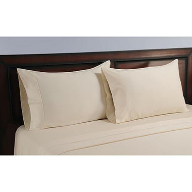 Natural Sheet Pillowcase Set 325 Threadcount - Various Size and Colors