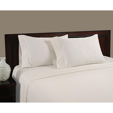 Cool and Crisp Pillowcase Set, 400 Thread Count - Various Sizes & Colors