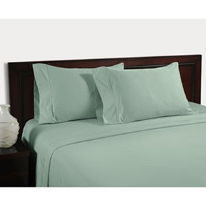 Cool and Crisp 400-Thread-Count Sheet Set (Assorted Sizes & Colors)