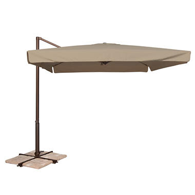 Venetian 8.6' x 8.6' Square Spa Umbrella - Beige