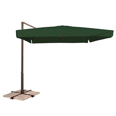Venetian 8.6' x 8.6' Square Spa Umbrella - Green