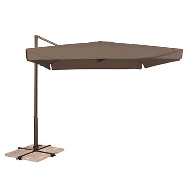 Venetian 8.6' x 8.6' Square Spa Umbrella - Taupe