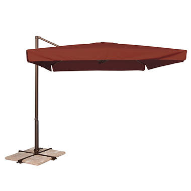 Venetian 8.6' x 8.6' Square Spa Umbrella - Henna