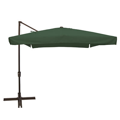 Madrid 8 x 8 Square Side Post Umbrella-Multiple Colors Available