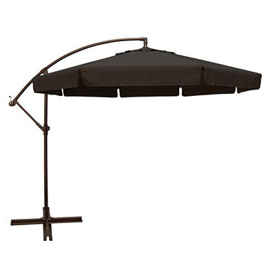 Capri 10' Octagon Side Post Umbrella-Multiple Colors Available