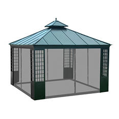 Sunjoy Universal Netting for 12 x 12  Gazebos