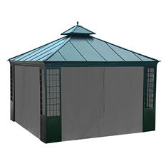 Sunjoy Universal Curtian for Huntley Gazebo