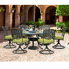 Sunjoy Lisa 7pc Dining Set