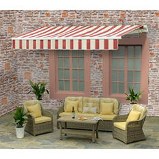 Sunjoy Brinkley Manual Operation Awning