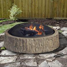 """Sunjoy Lumberjack 34"""" Fire Pit"""