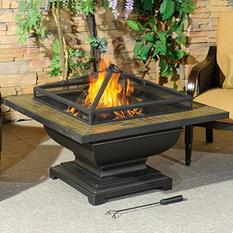 """Sunjoy Sandy 36"""" Fire Pit"""