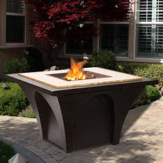 Sunjoy Carthage Stone Fire Pit
