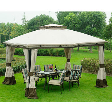 Soft-Top Gazebo 12'x10' Rectangle