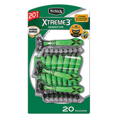 Schick Xtreme 3 Disposable Razors - 20 ct