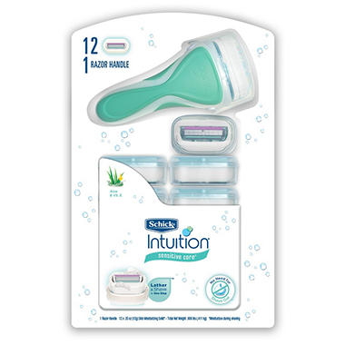 Schick® Intuition® Plus™ - 12 cartridges