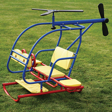 Lifetime® Helicopter Teeter Totter - Primary Colors