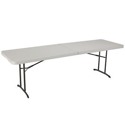 Lifetime 8' Fold-in-Half Table, Almond