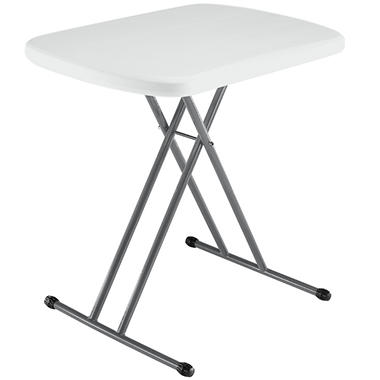 "Lifetime 26"" Personal Table - White Granite"