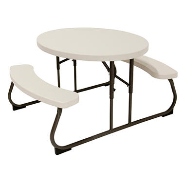 Lifetime Kid's Oval Picnic Table
