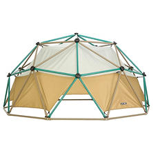 Lifetime Kids Metal Dome Climber with Canopy, Earthtone