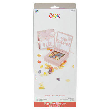 Sizzix Bigz XL BIGkick/Big Shot Die-Box, Shaker