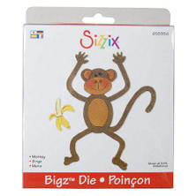 Sizzix Bigz BIGkick/Big Shot Die-Monkey