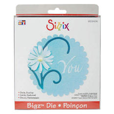 Sizzix Bigz BIGkick/Big Shot Die-Circle, Scallop