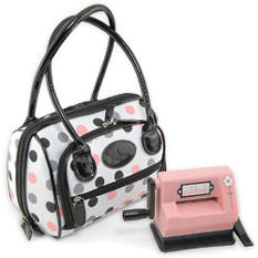 Sizzix Handbag Storage W/2 Plastic Cases For Sidek